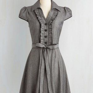 NWOT Modcloth: About the Artist A-Line Dress